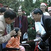 2003幫陳總統和小云翻譯