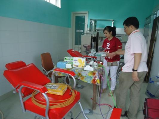 安排場地和準備義診用具等 (3)