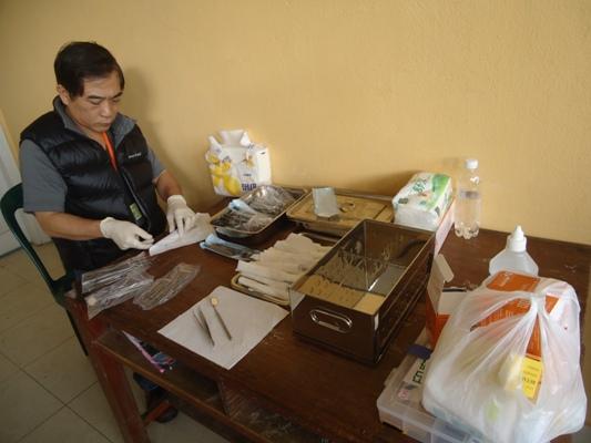 安排場地和準備義診用具等 (4)