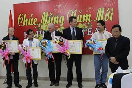 Nhận bằng khen do UBND tỉnh Quảng Trị trao tặng C.I