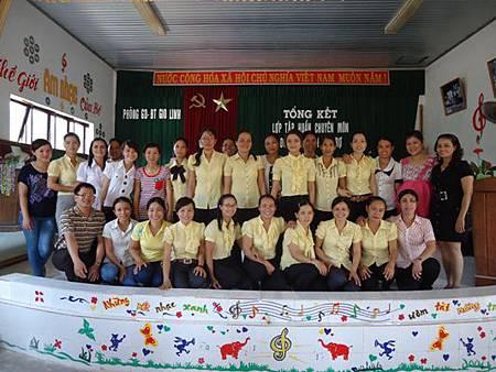 Được tham gia tập huấn do C.I tổ chức là nguyện vọng của các cô mầm non1