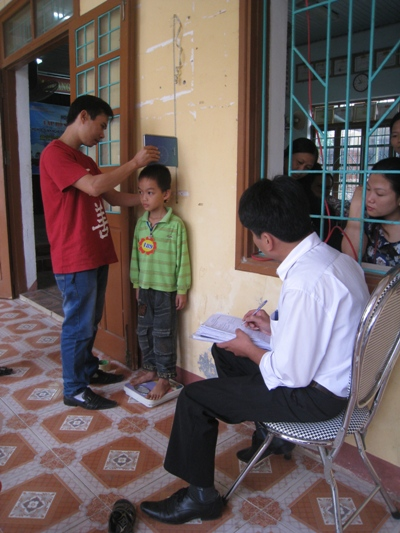 (2)收集孩童身高體重資料