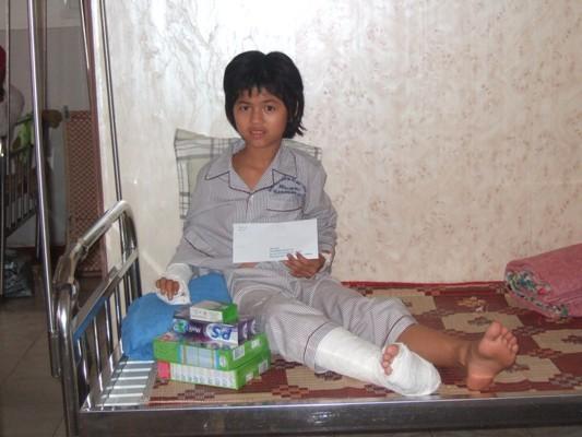 篩檢到的病童入院做手術.JPG