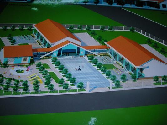 2008年至善學前計劃預定興建幼稚園的模型.JPG