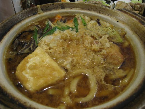 味噌烏龍麵