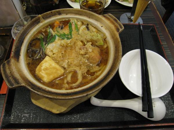 料多味美的味噌烏龍麵