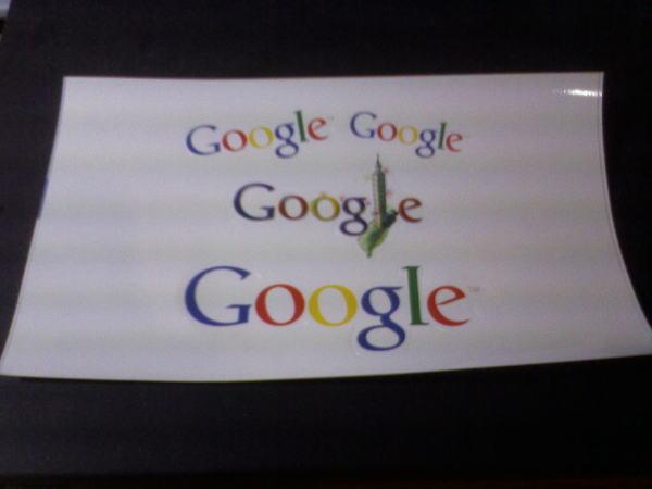 Google 貼紙