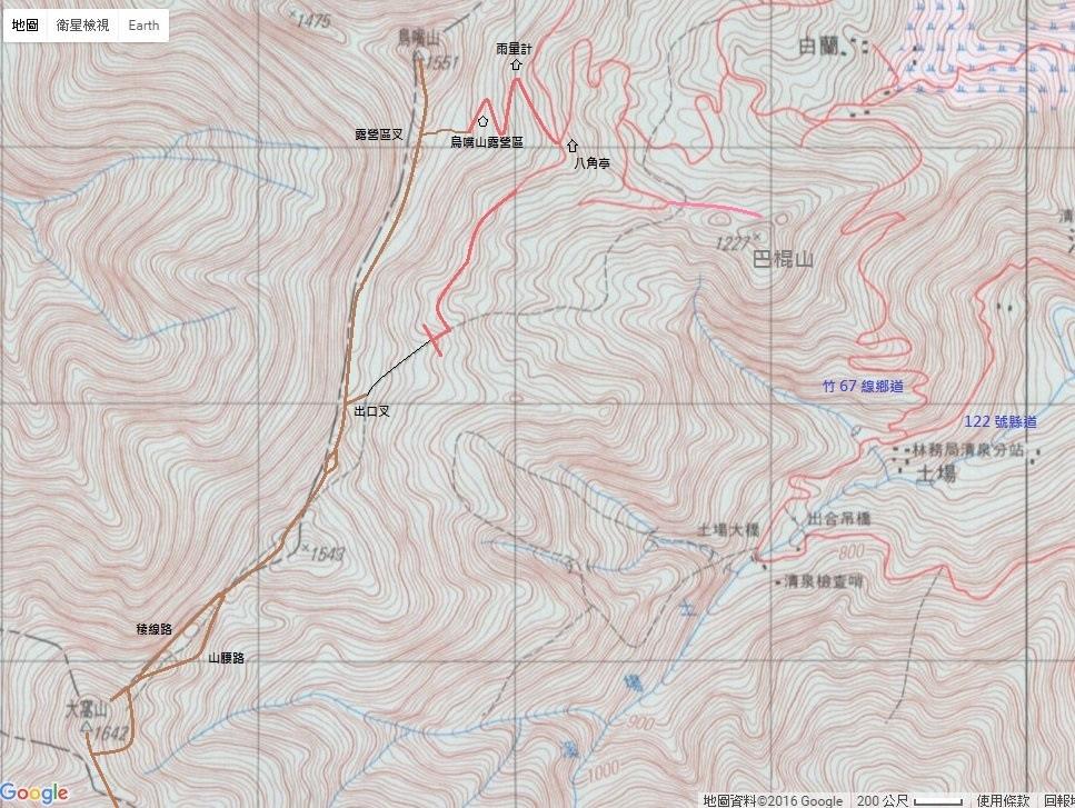鳥嘴山 大窩山 map.jpg