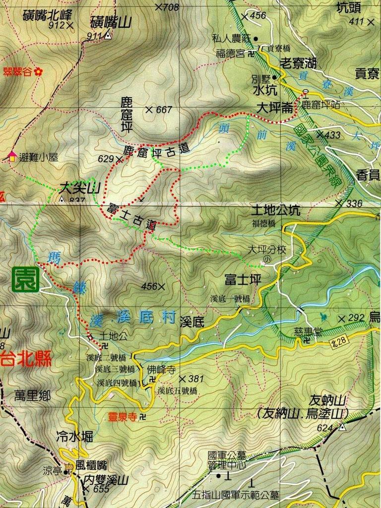 鹿崛坪古道 Map.jpg