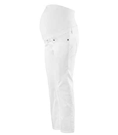 H&M白色七分褲.jpg