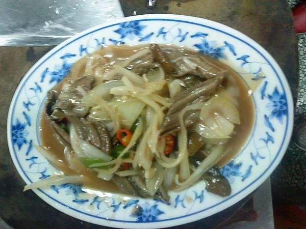 阿銘點心攤=>炒鱔魚