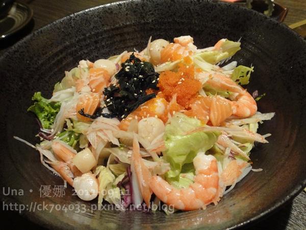 醐同燒肉-海鮮沙拉1.JPG