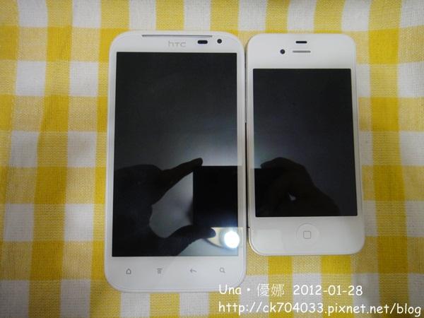 HTC XL & Iphone4.JPG