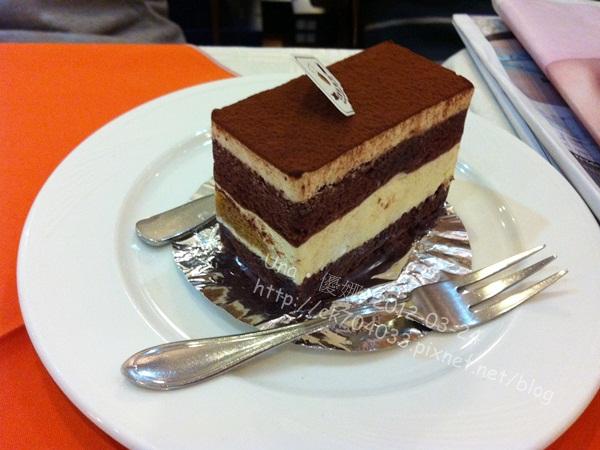 巴登咖啡台北天母店-提拉米蘇蛋糕