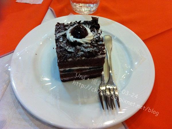 巴登咖啡台北天母店-黑森林蛋糕