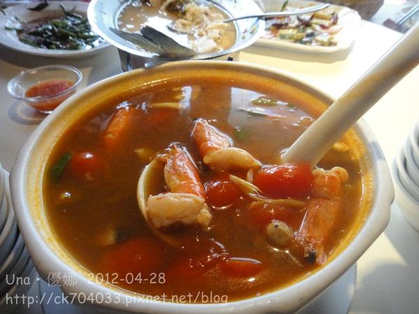 泰正點泰式料理餐廳-什錦海鮮湯