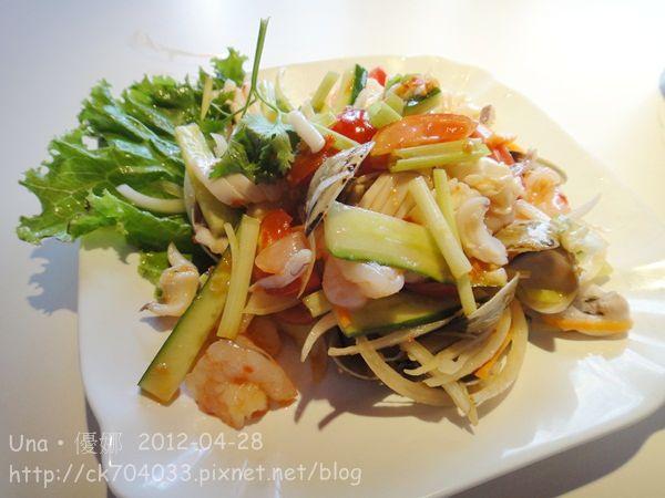 泰正點泰式料理餐廳-涼拌海鮮