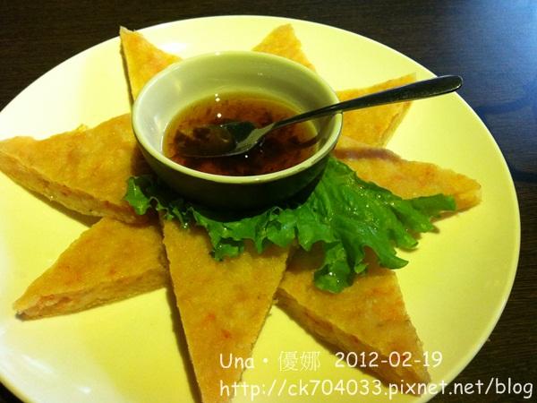 蘭那泰式餐廳(台北板橋店)月亮蝦餅