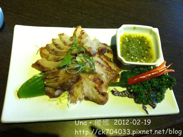 蘭那泰式餐廳(台北板橋店)炭烤松阪豬