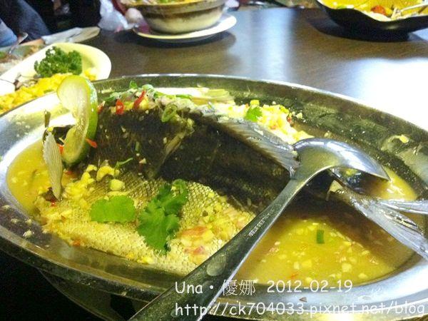 蘭那泰式餐廳(台北板橋店)清蒸檸檬金鱒