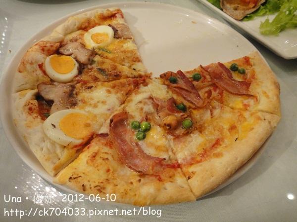 培根+照燒雞肉比薩