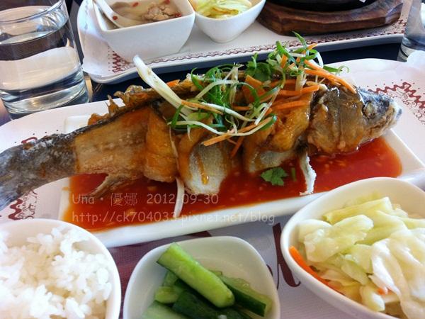 基隆‧象屋美饌坊-糖醋鱸魚1