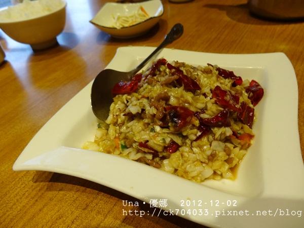 雞窩餐廳-泡菜牛肉絲