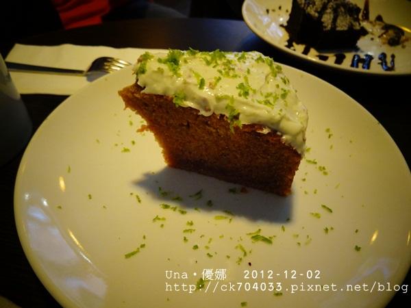 wayne's cafe-胡蘿蔔蛋糕1