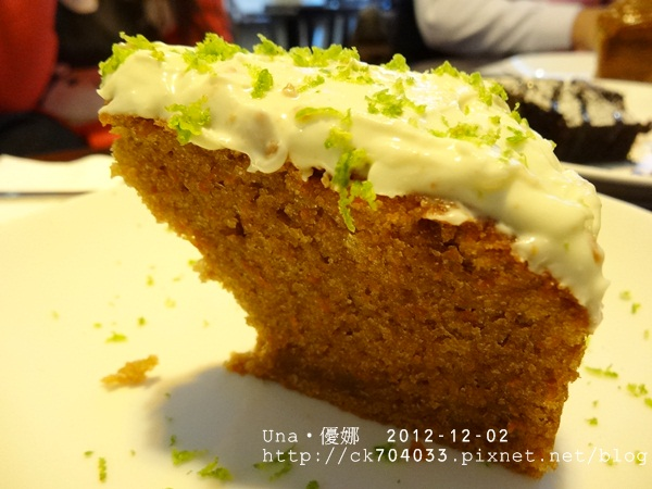 wayne's cafe-胡蘿蔔蛋糕2