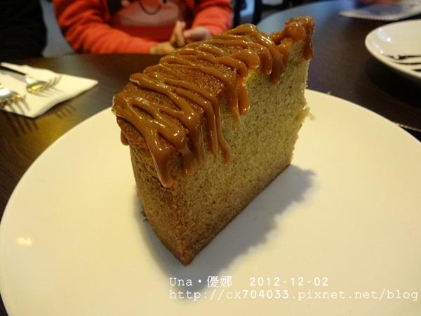 wayne's cafe-香蕉蛋糕