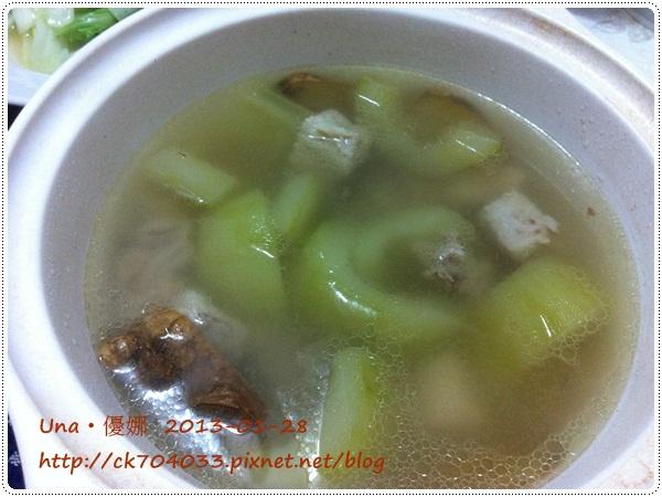 102.1.28胡瓜排骨湯