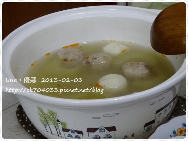 胡瓜丸子湯