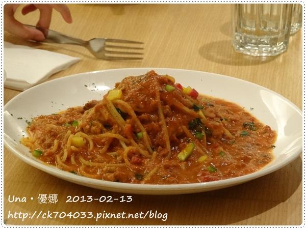 102.2.13 GoGo Pasta敦南店-人氣肉醬義大利麵
