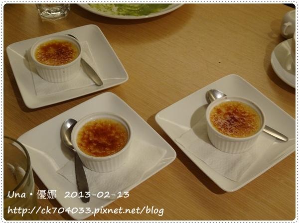 102.2.13 GoGo Pasta敦南店-焦糖布丁
