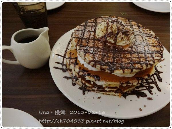 102.2.16方糖咖啡館-香蕉巧克力蛋糕3