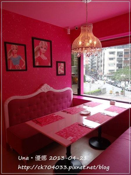 Barbie Cafe芭比餐廳8