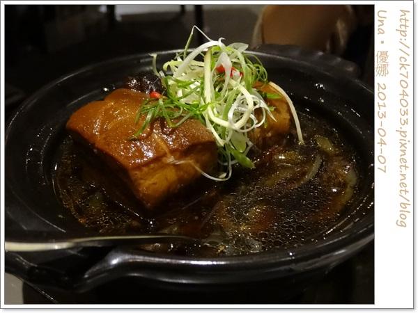 水舞饌台北大直店-烏參東坡肉2