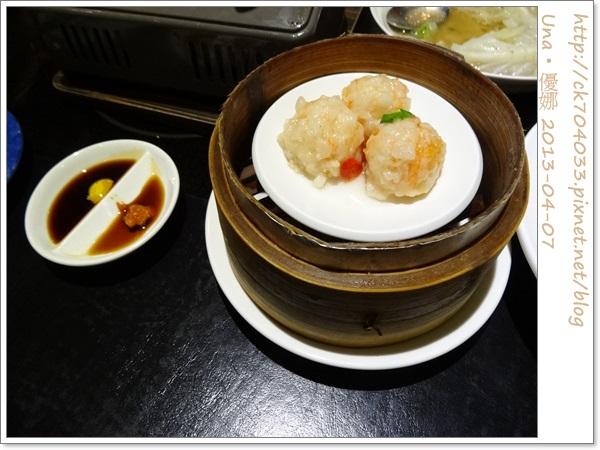 水舞饌台北大直店-清蒸鮮蝦球1