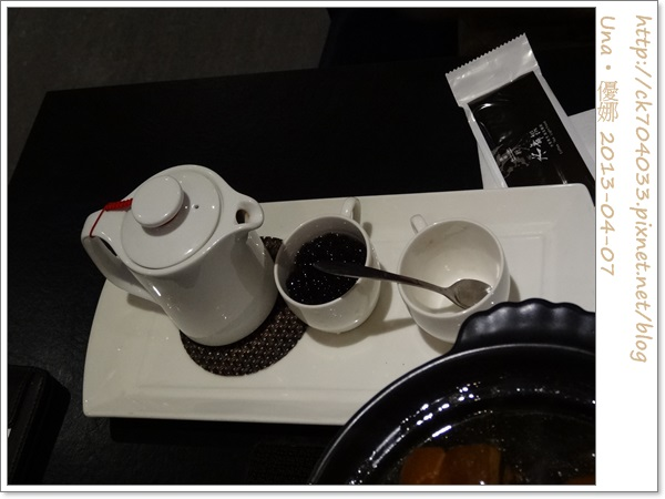 水舞饌台北大直店-熱珍珠奶茶