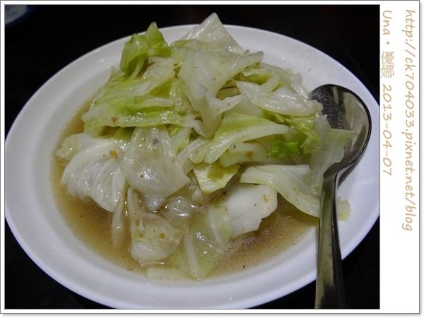 水舞饌台北大直店-蝦醬高麗菜