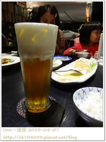 水舞饌台北大直店-鮮奶酪綠茶