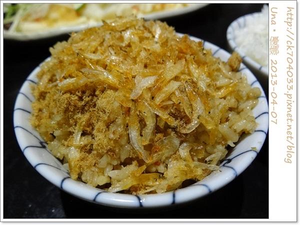 水舞饌台北大直店-櫻花蝦飯