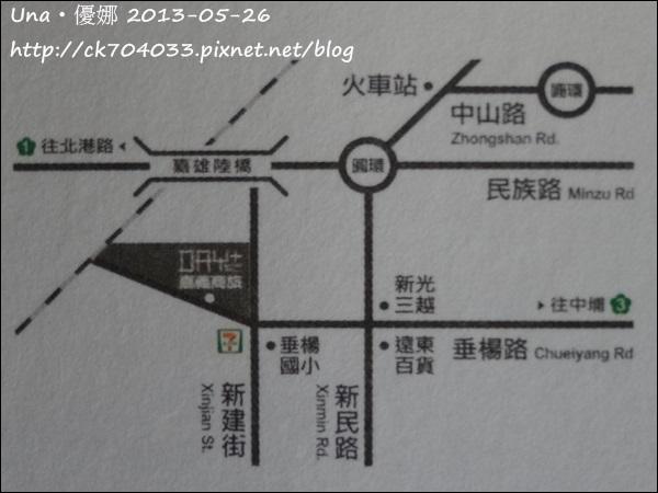 嘉義商旅地圖