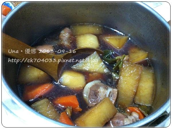 【大同電鍋】蘿蔔滷肉3