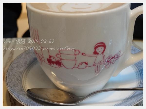 京站2樓艾莉兒咖啡-熱拿鐵3