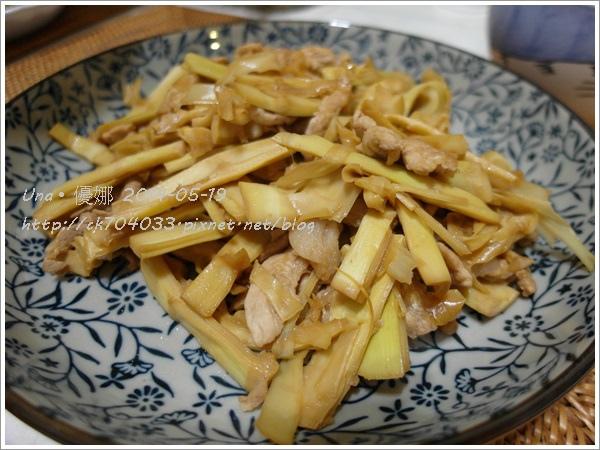 1030519煮晚餐 ~ 桂竹筍炒肉絲