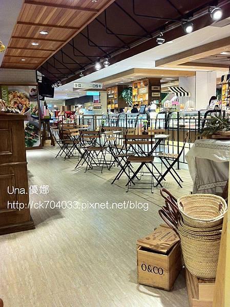 台中新光三越O&CO橄欖餐廳8