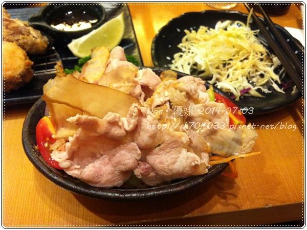 6勝博殿新光三越站前店-繽紛野菜組合套餐B-涮豬野菜沙拉1