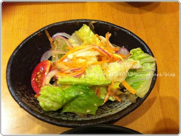 7勝博殿新光三越站前店-繽紛野菜組合套餐B-涮豬野菜沙拉2