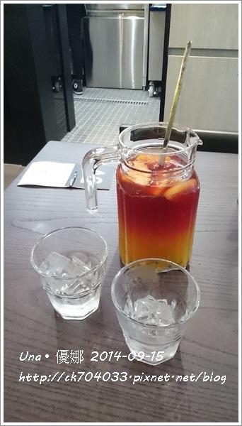 信陽街Waffogato  瓦法奇朵咖啡館-落日水果茶